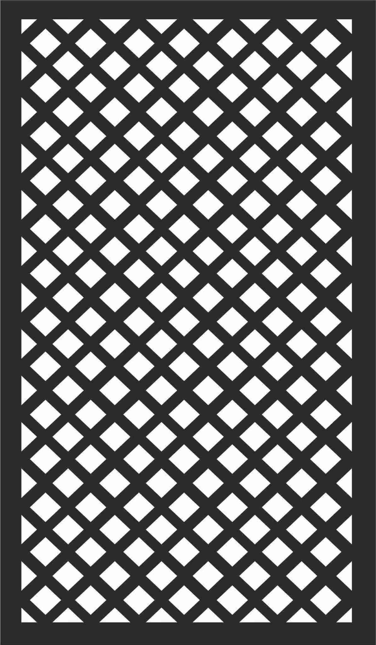 Decorative Screen Patterns For Laser Cutting 108 Free DXF File