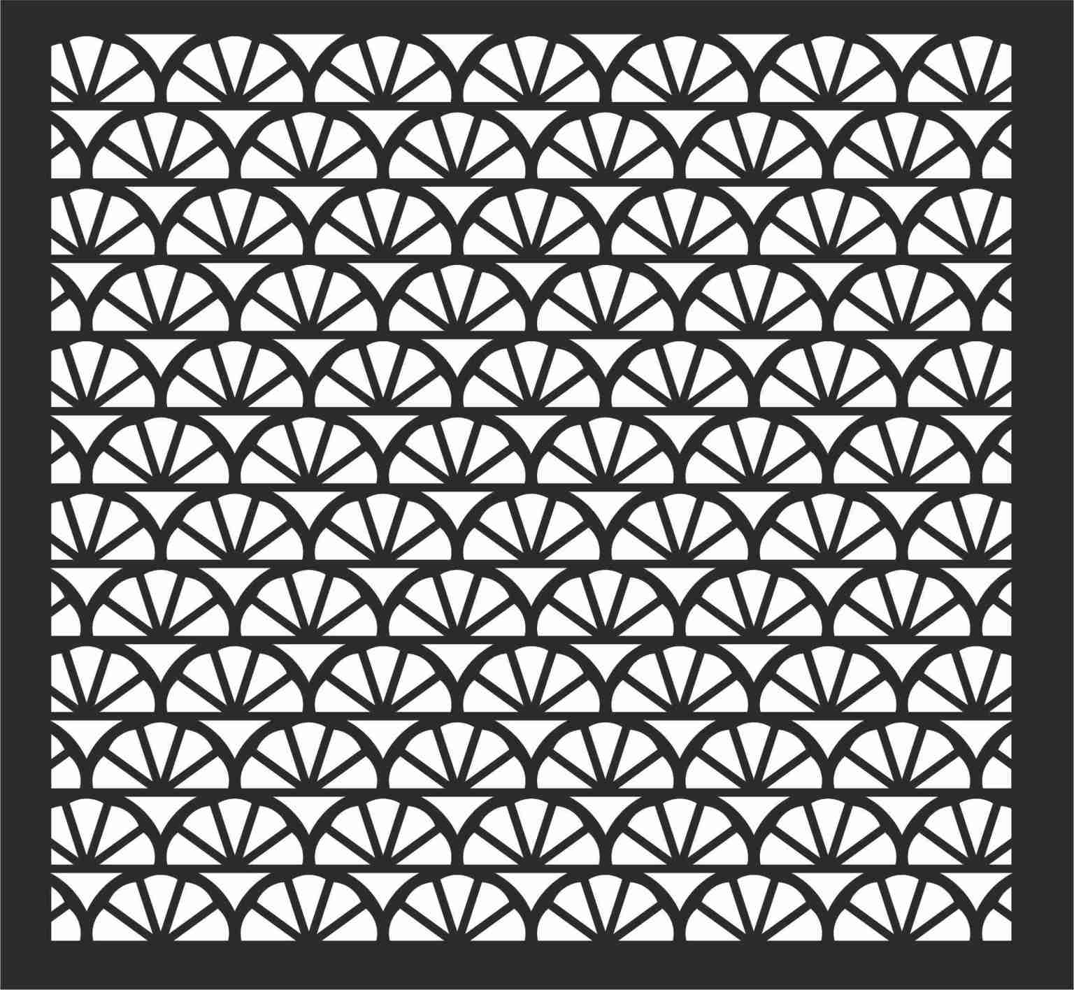 Decorative Screen Patterns For Laser Cutting 117 Free DXF File
