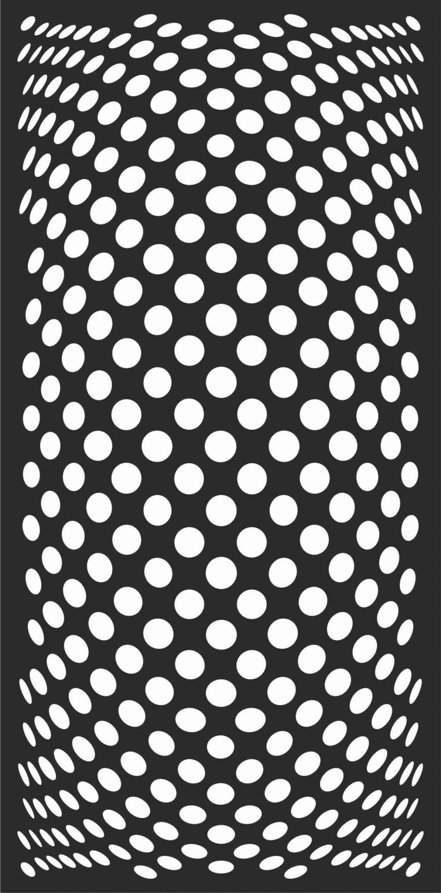Decorative Screen Patterns For Laser Cutting 134 Free DXF File