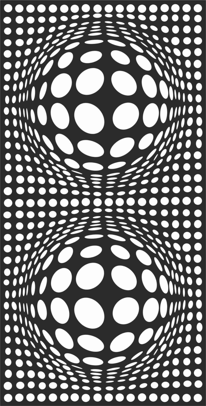 Decorative Screen Patterns For Laser Cutting 136 Free DXF File