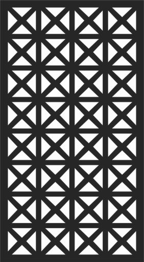Decorative Screen Patterns For Laser Cutting 144 Free DXF File