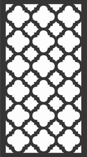 Decorative Screen Patterns For Laser Cutting 160 Free DXF File