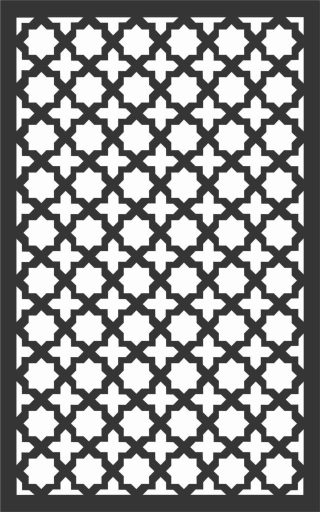 Decorative Screen Patterns For Laser Cutting 161 Free DXF File