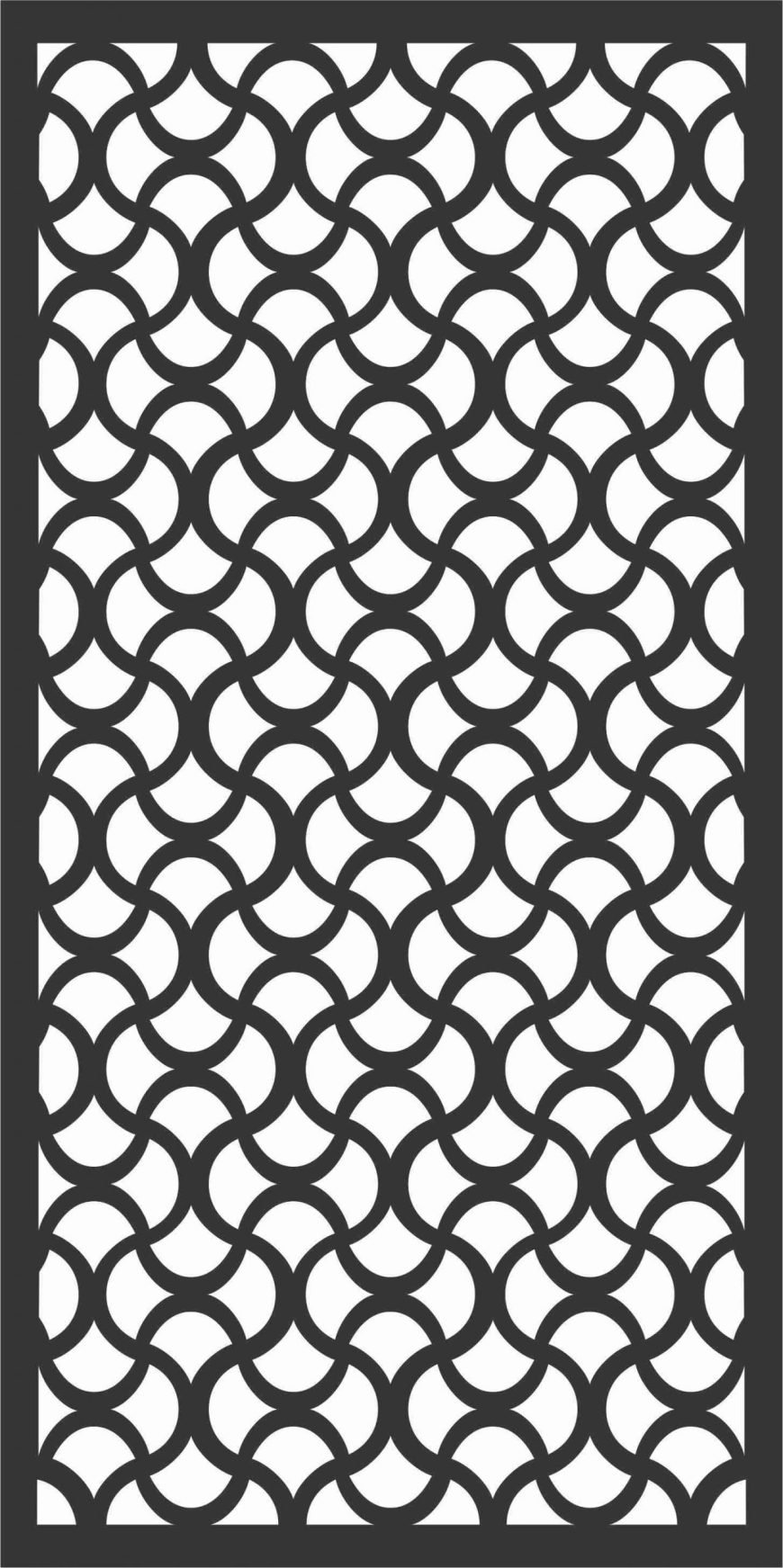 Decorative Screen Patterns For Laser Cutting 162 Free DXF File