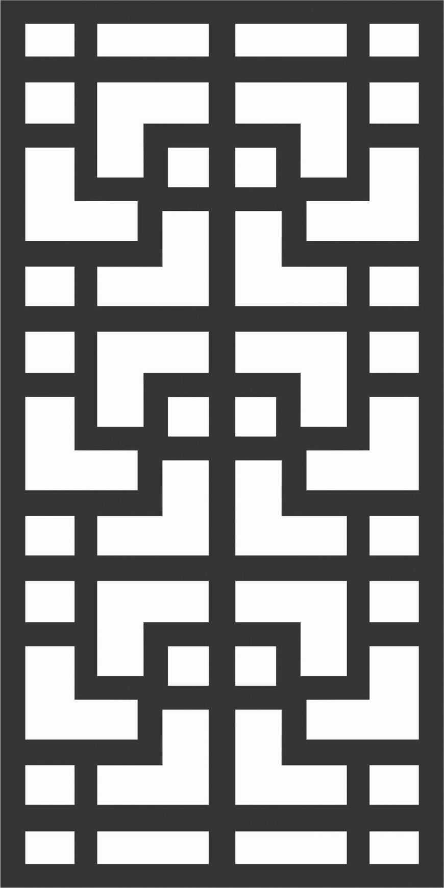 Decorative Screen Patterns For Laser Cutting 171 Free DXF File