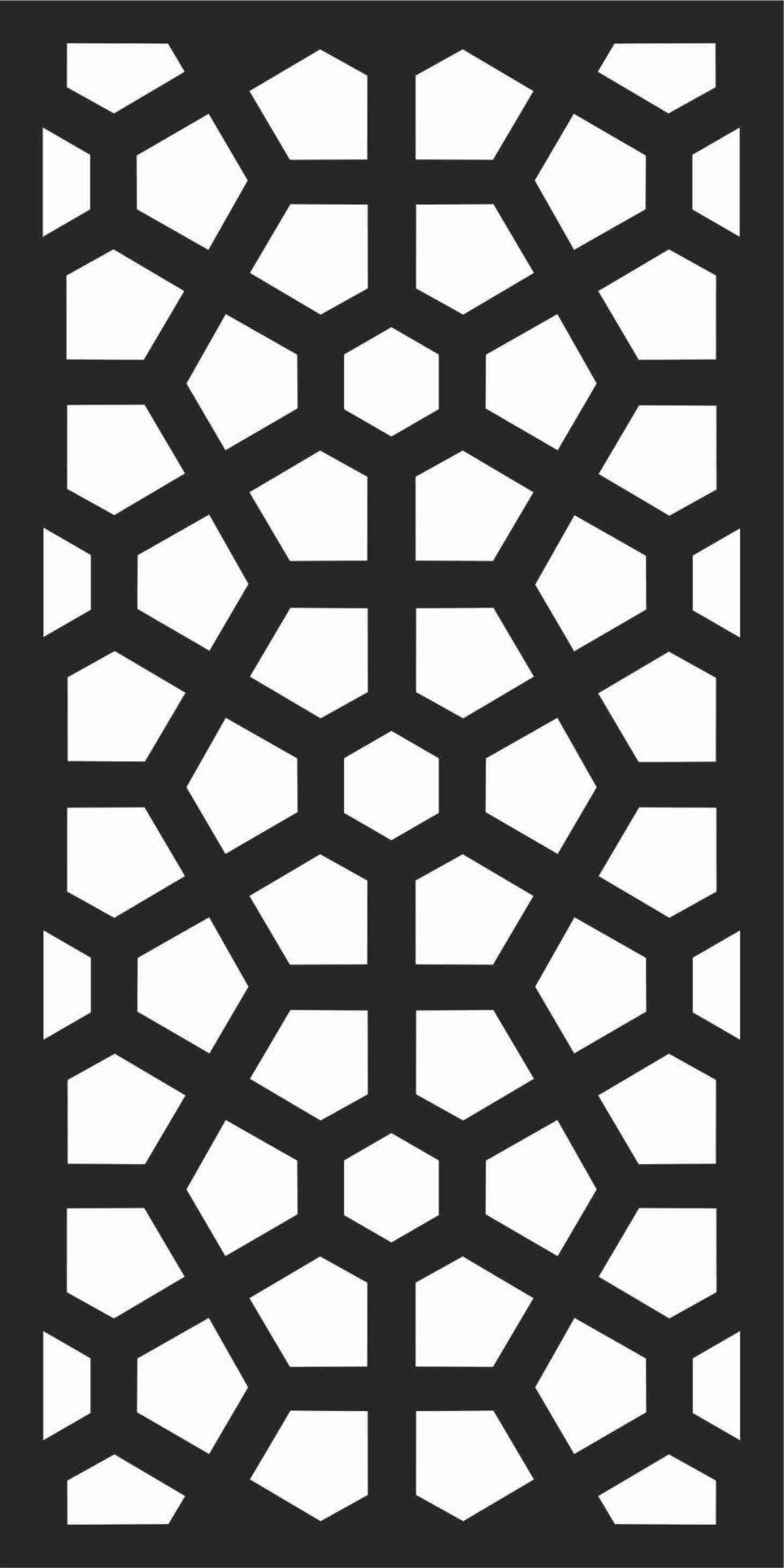 Decorative Screen Patterns For Laser Cutting 177 Free DXF File