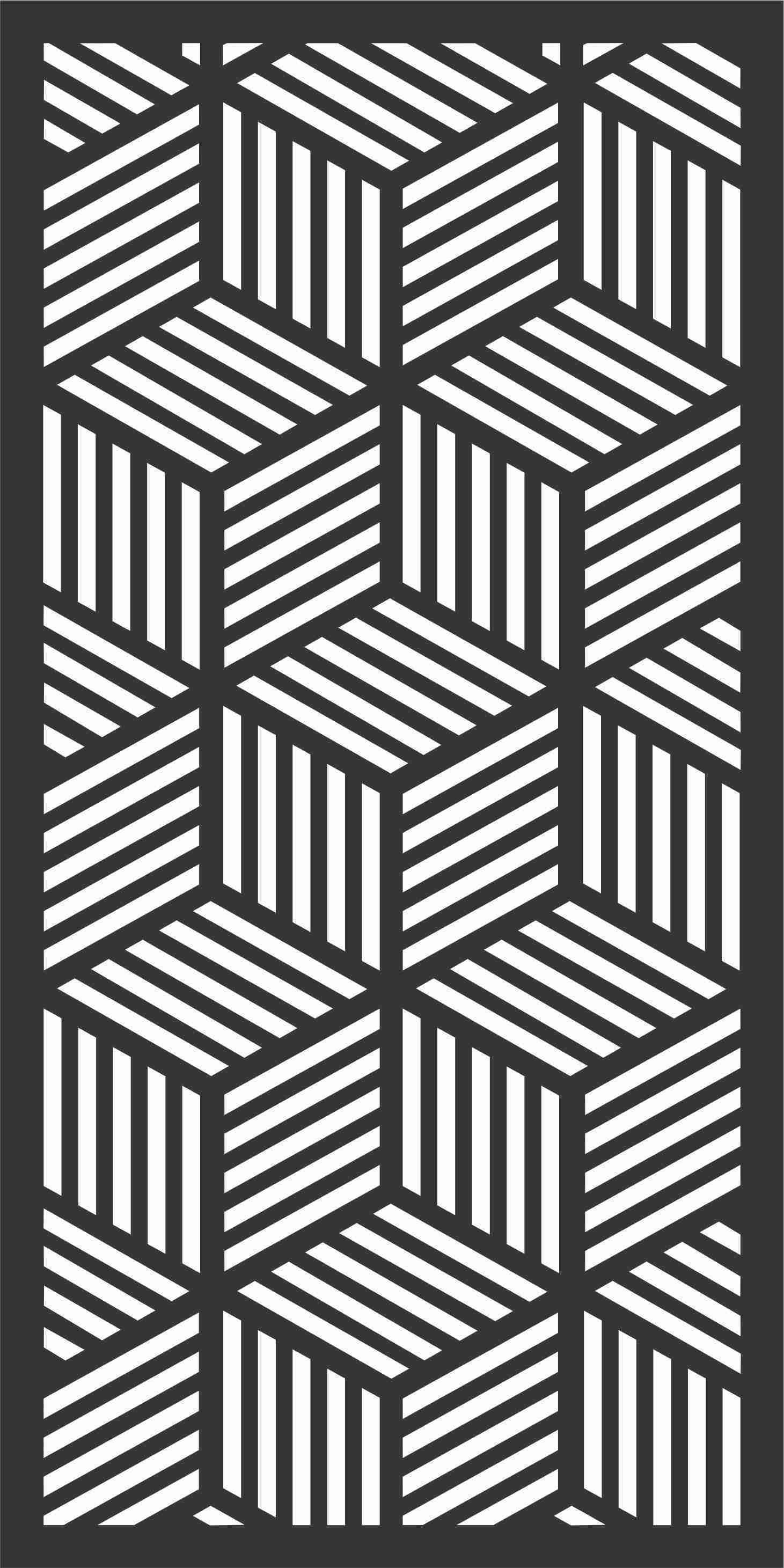 Decorative Screen Patterns For Laser Cutting 178 Free DXF File
