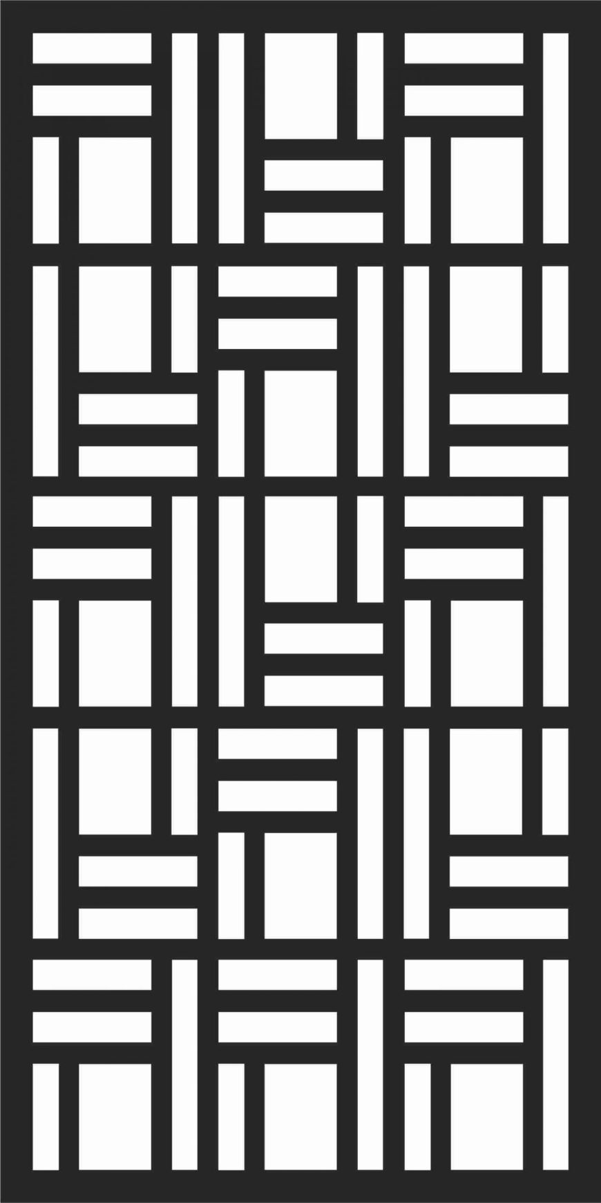 Decorative Screen Patterns For Laser Cutting 185 Free DXF File