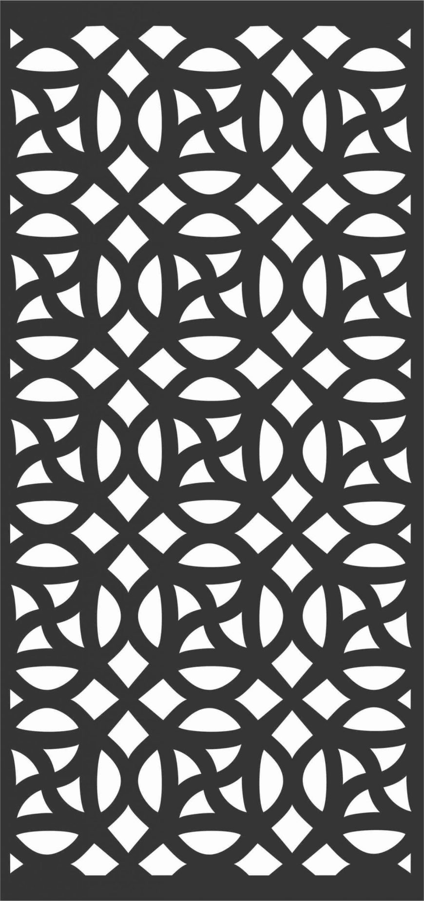 Decorative Screen Patterns For Laser Cutting 192 Free DXF File
