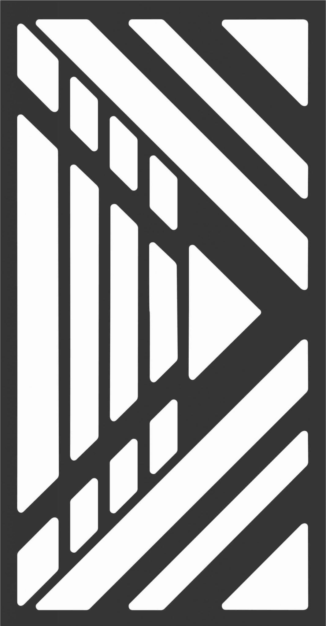 Decorative Screen Patterns For Laser Cutting 193 Free DXF File