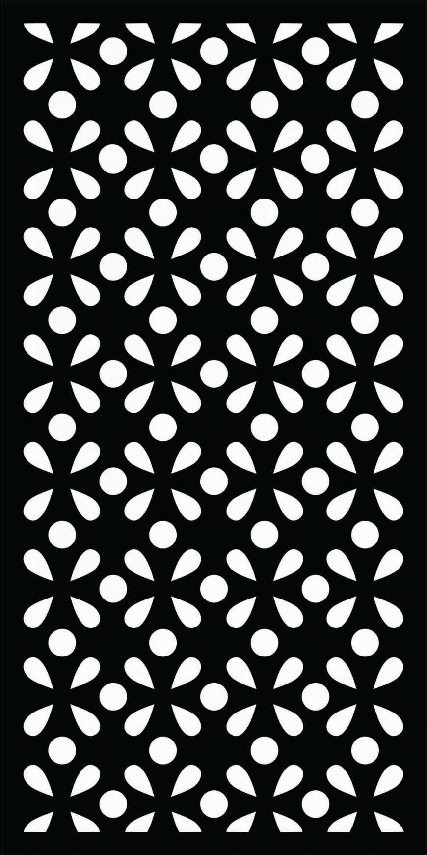 Decorative Screen Patterns For Laser Cutting 199 Free DXF File