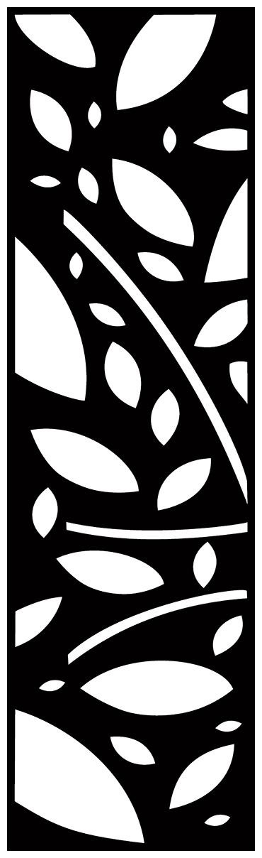 Decorative Screen Patterns For Laser Cutting 1893 Free DXF File