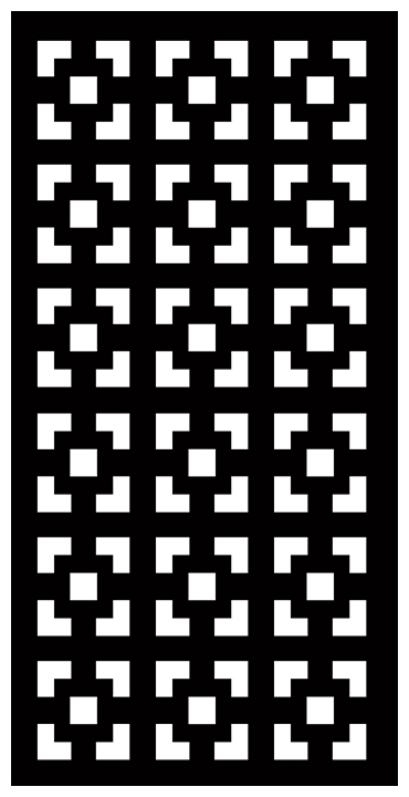 Decorative Screen Patterns For Laser Cutting 1900 Free DXF File
