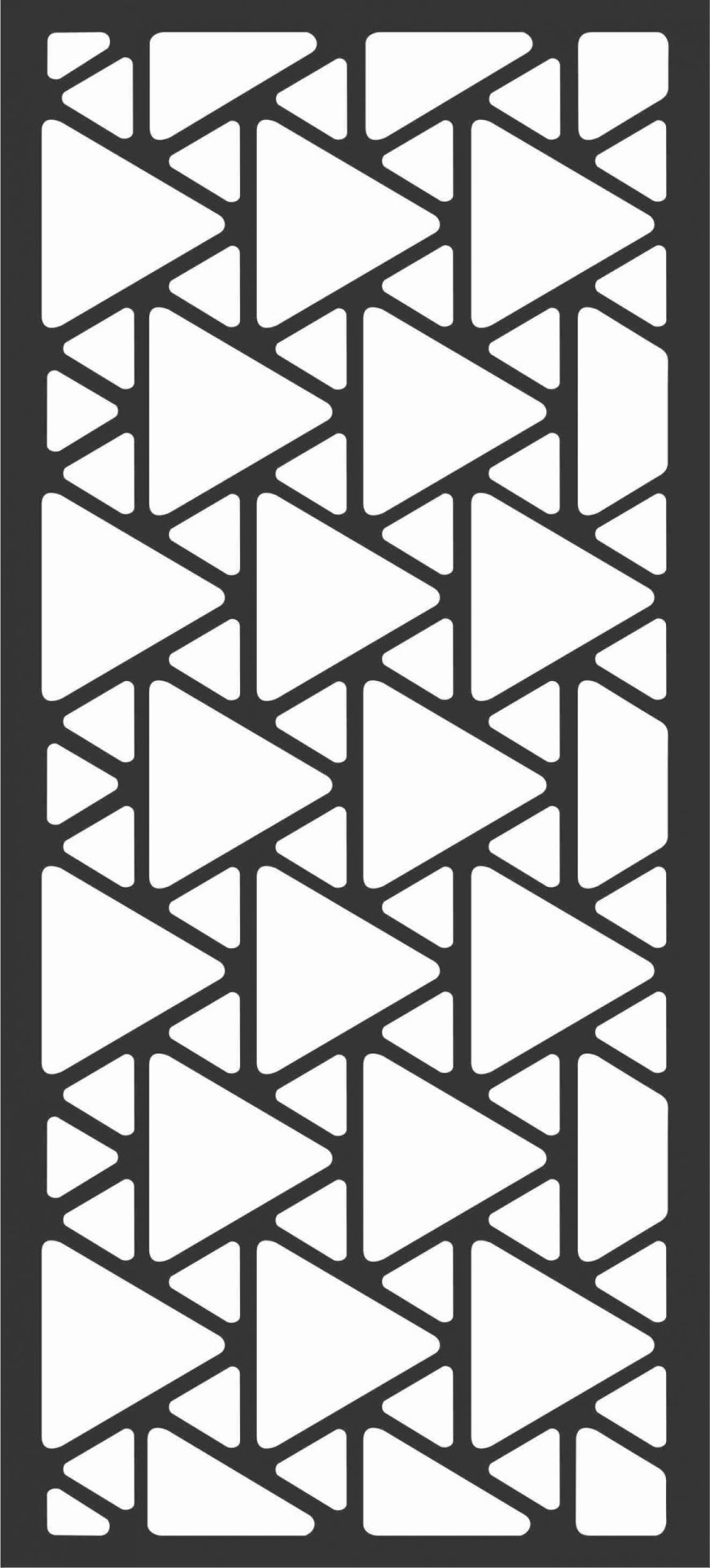 Floral Screen Patterns Design 6 Free DXF File