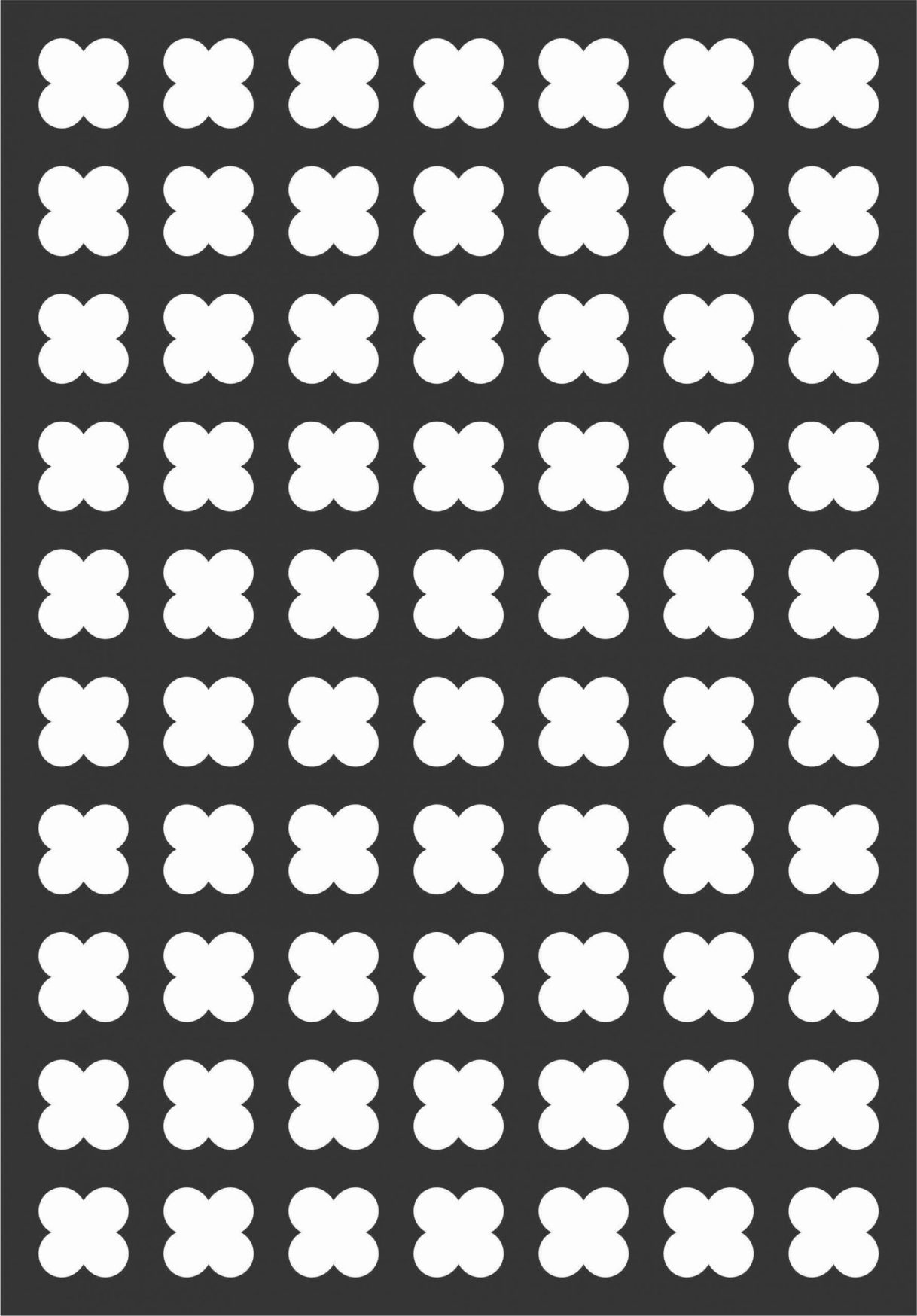 Floral Screen Patterns Design 91 Free DXF File