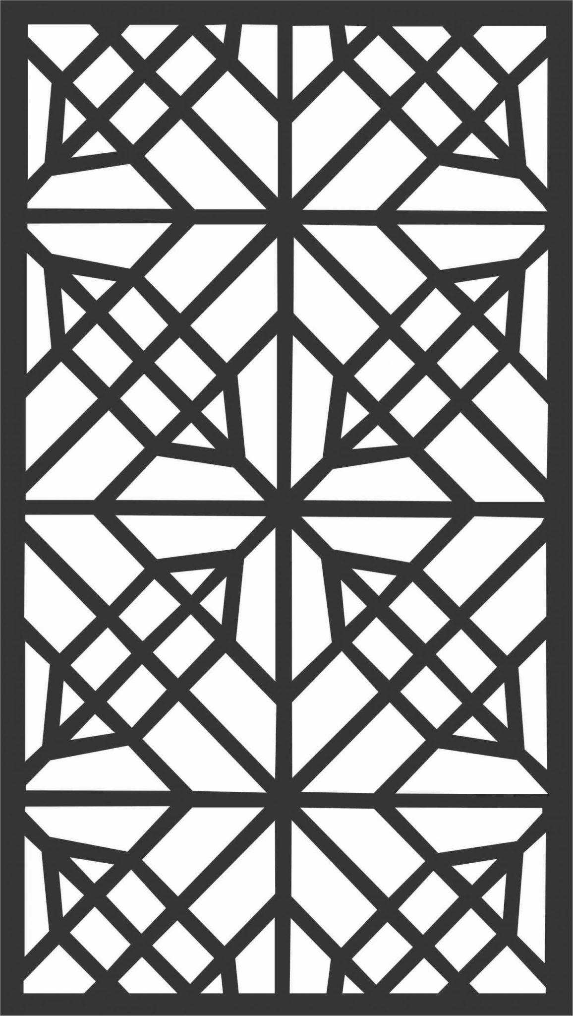 Screen Panel Patterns Seamless 23 Free DXF File