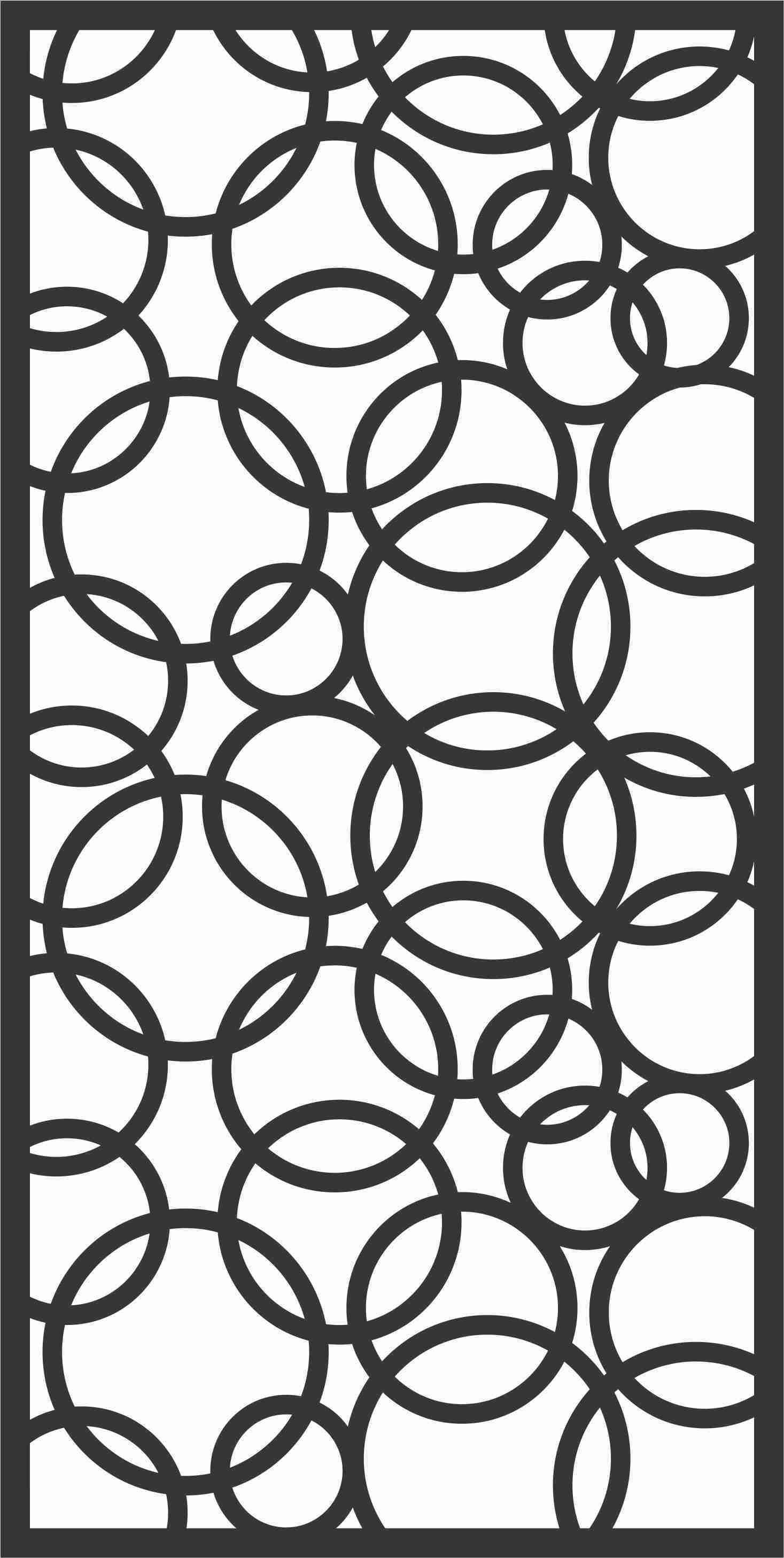 Screen Panel Patterns Seamless 27 Free DXF File