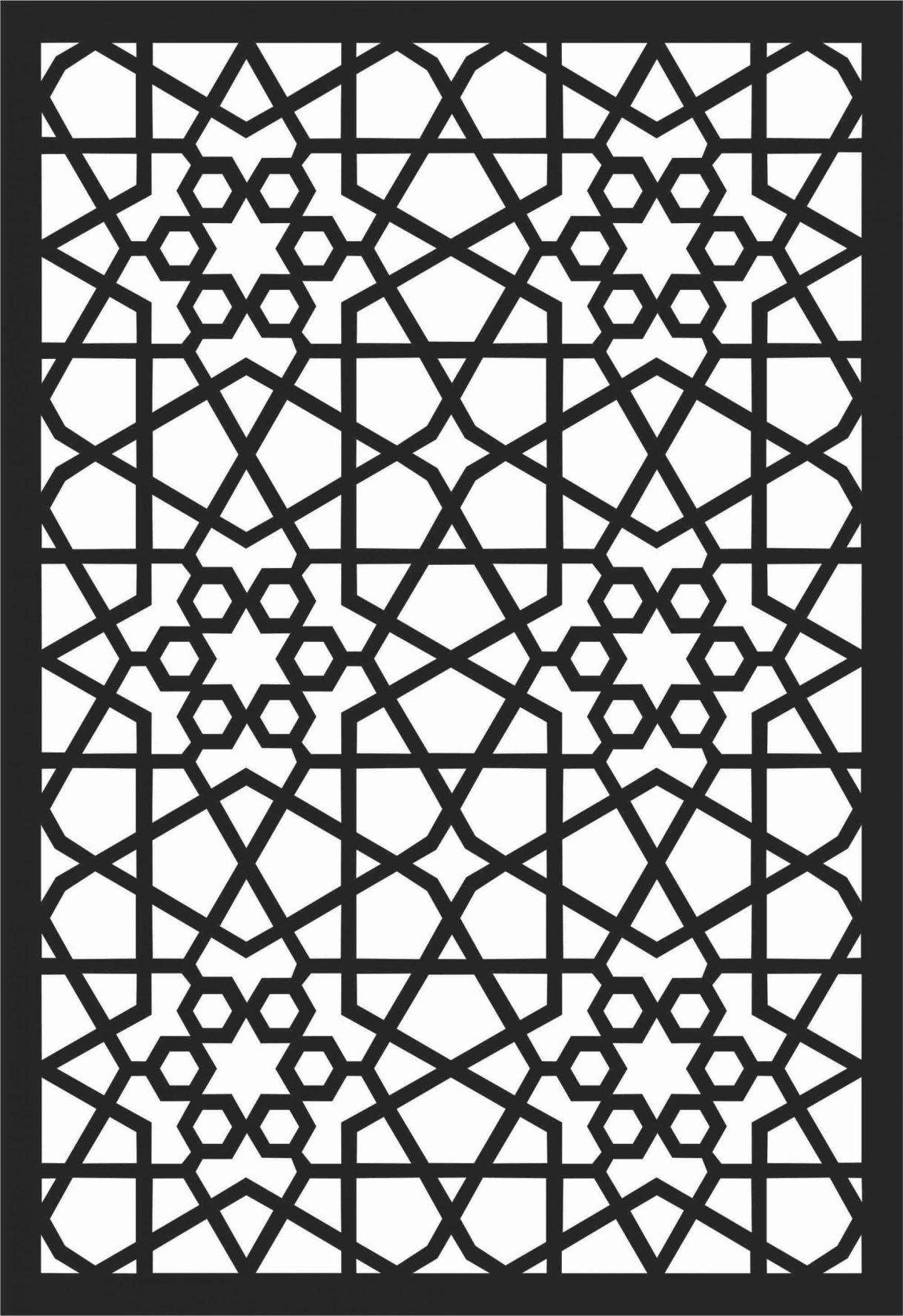 Screen Panel Patterns Seamless 29 Free DXF File