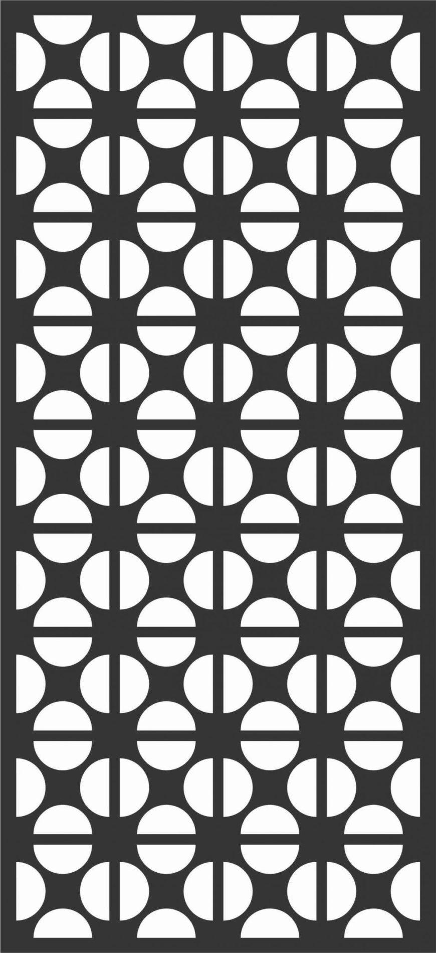 Screen Panel Patterns Seamless 32 Free DXF File