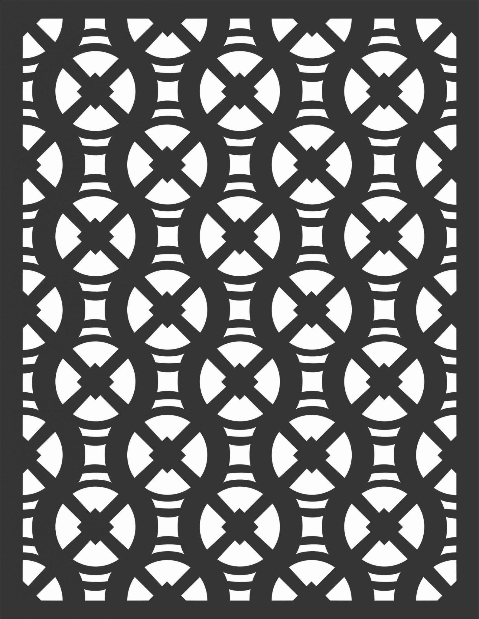 Screen Panel Patterns Seamless 37 Free DXF File