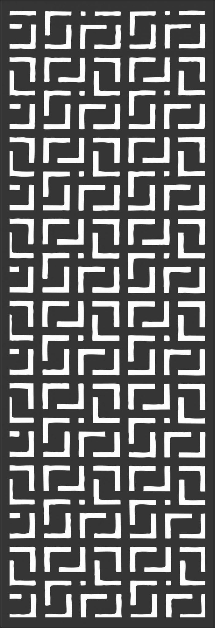 Screen Panel Patterns Seamless 39 Free DXF File