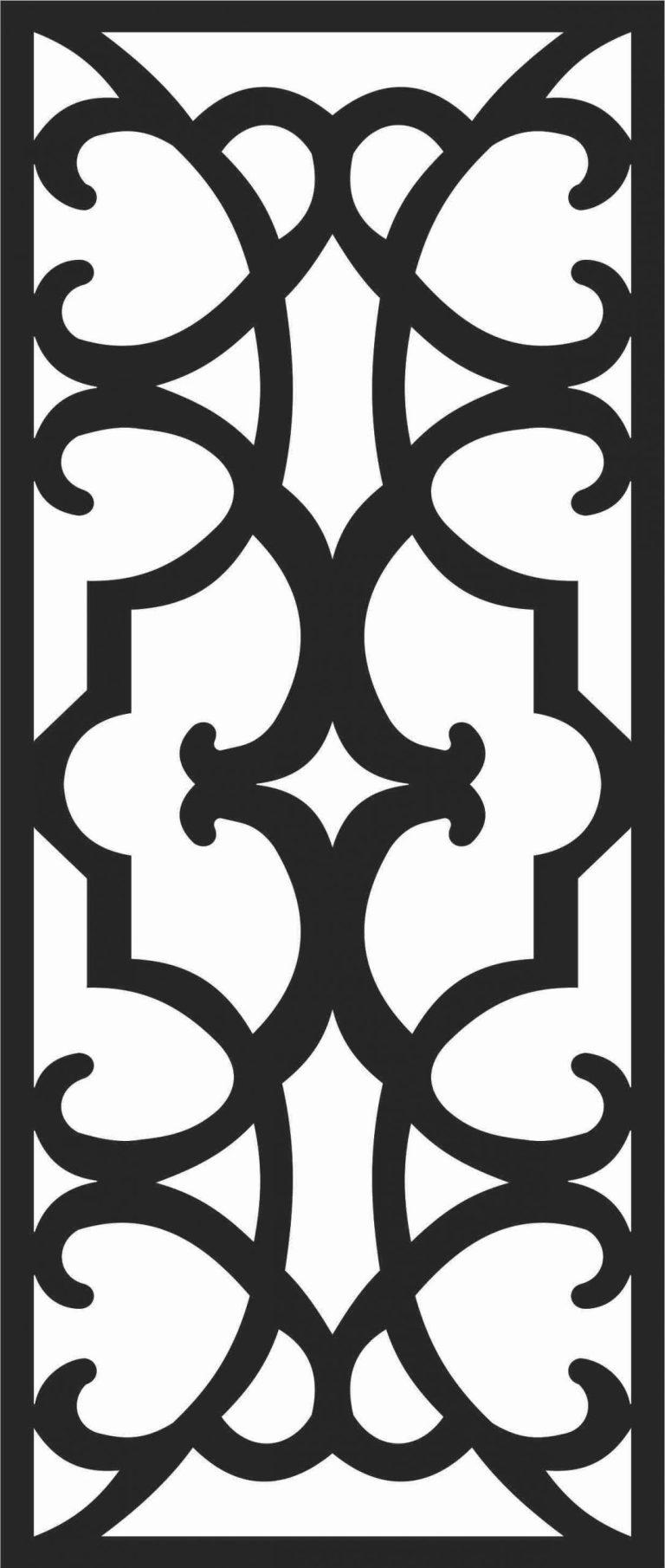 Screen Panel Patterns Seamless 49 Free DXF File