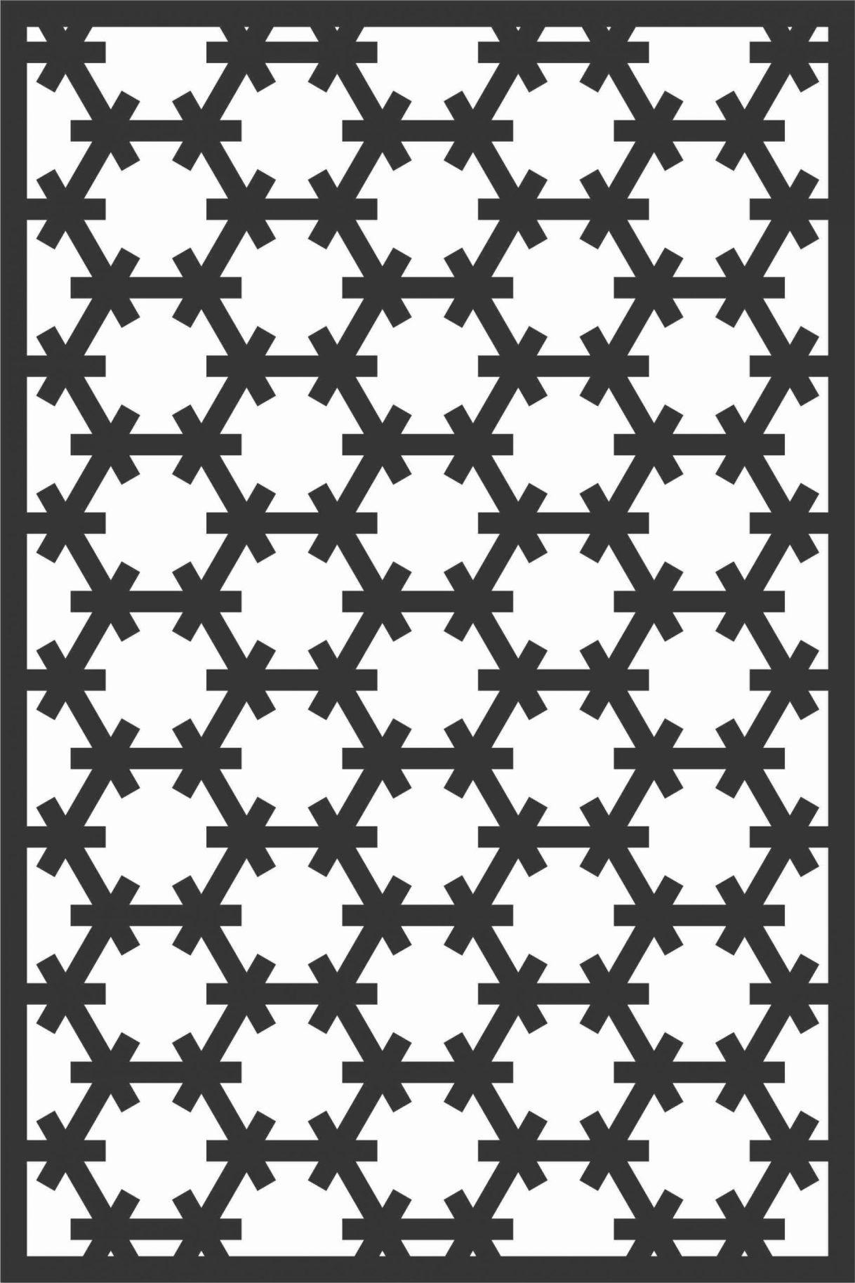 Screen Panel Patterns Seamless 57 Free DXF File