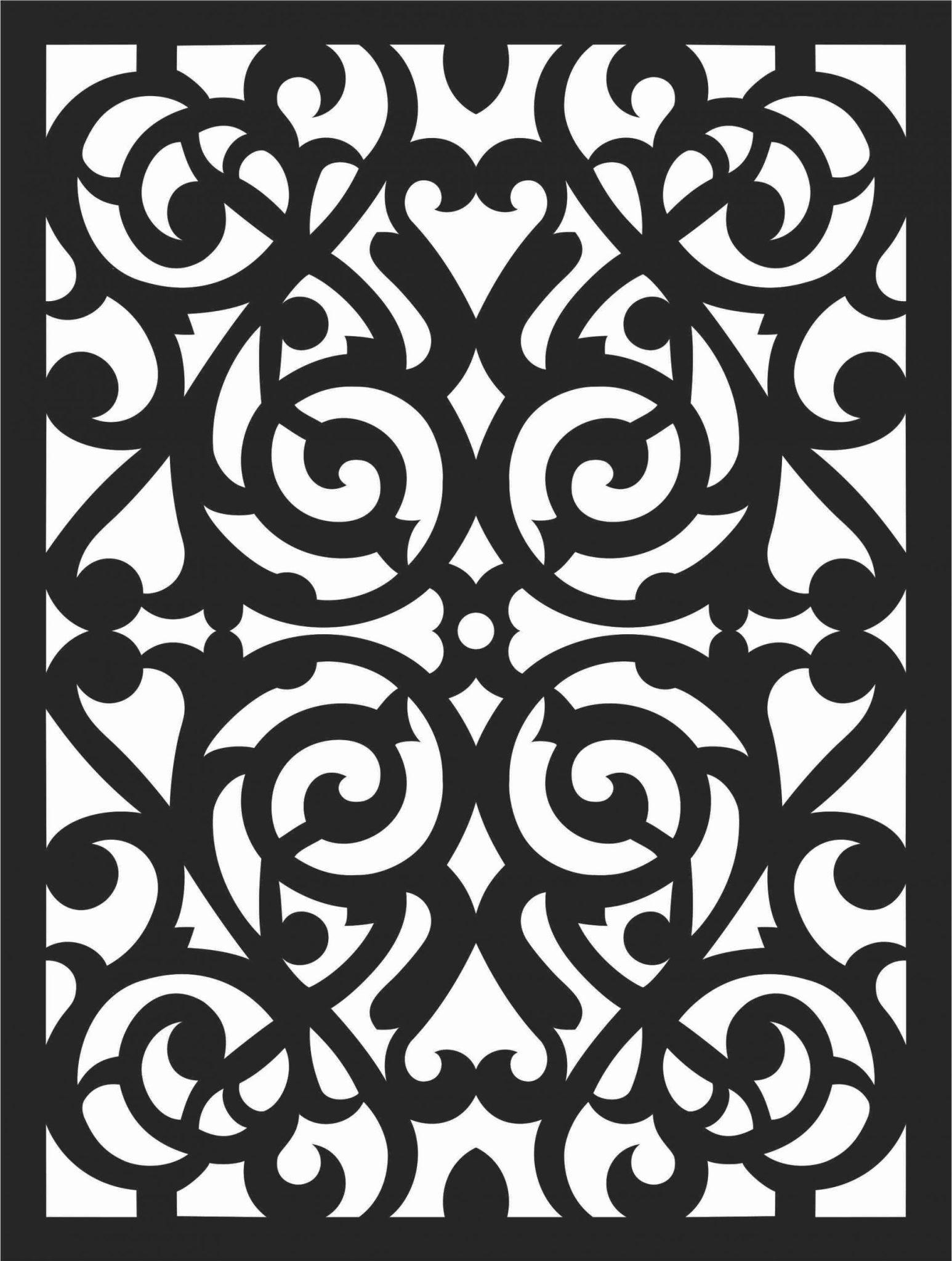 Screen Panel Patterns Seamless 67 Free DXF File