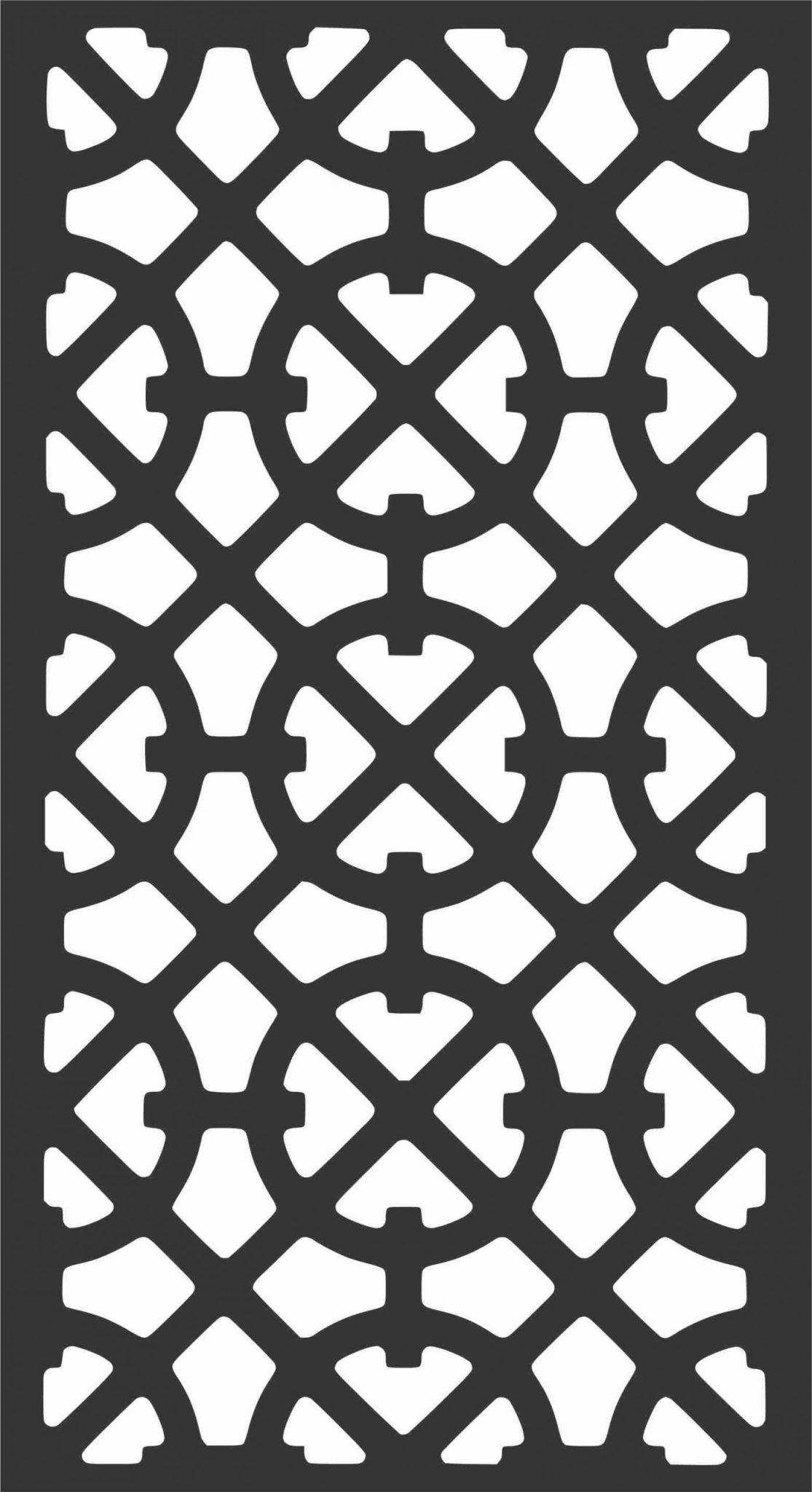 Screen Panel Patterns Seamless 80 Free DXF File