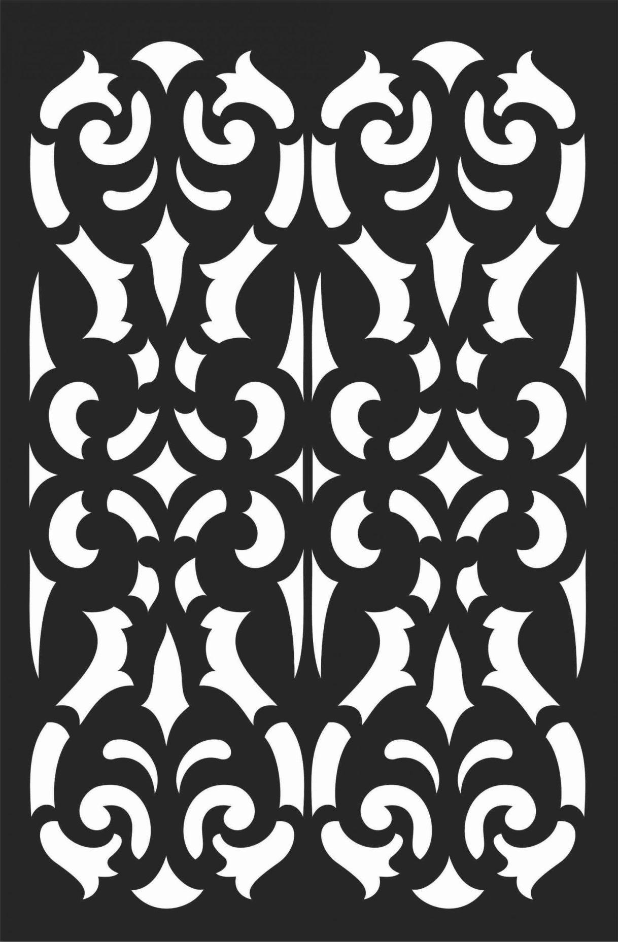 Screen Panel Patterns Seamless 87 Free DXF File