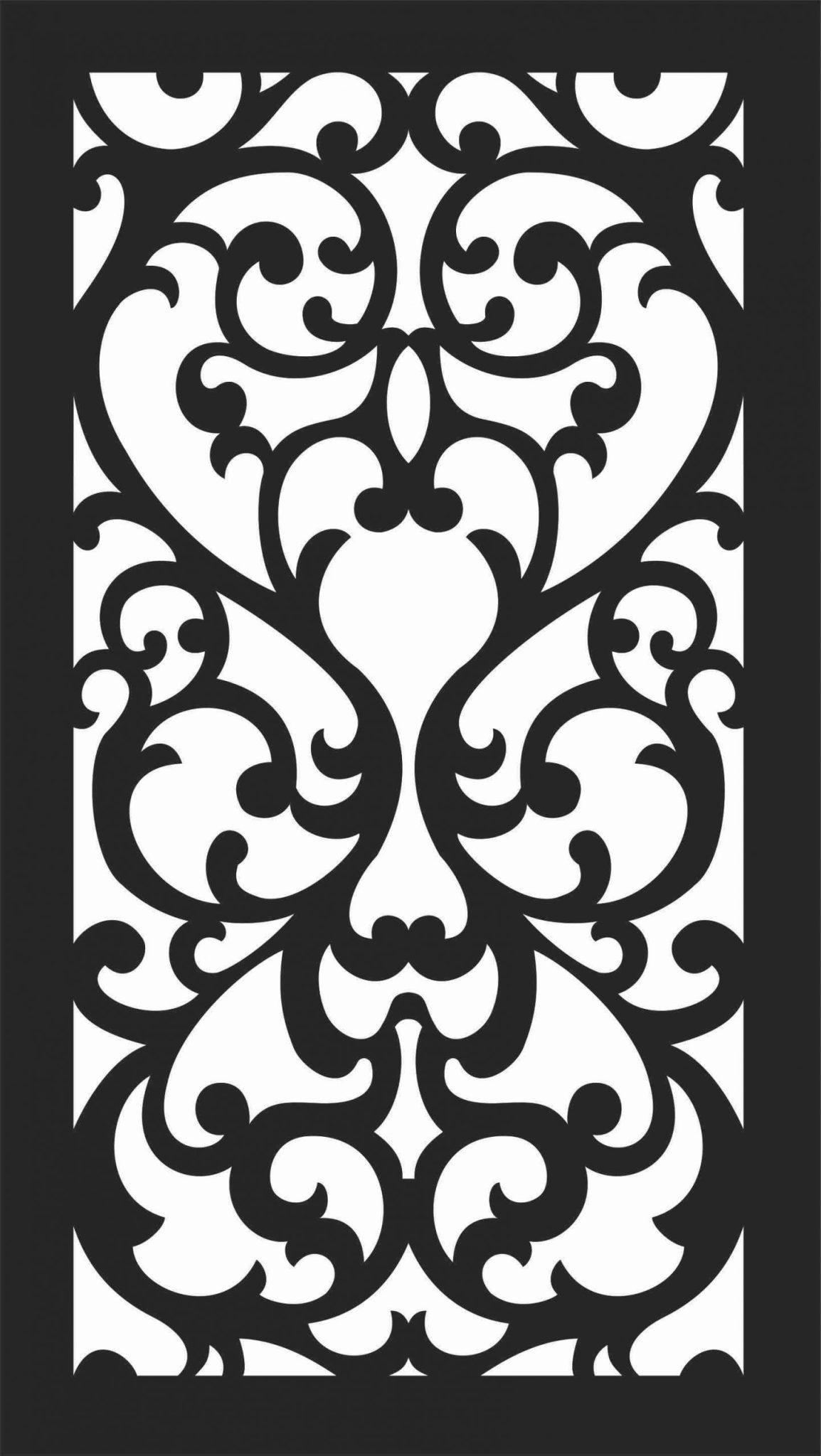 Screen Panel Patterns Seamless 89 Free DXF File