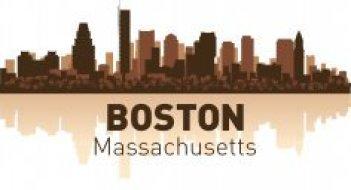 Boston Skyline Free CDR Vectors Art