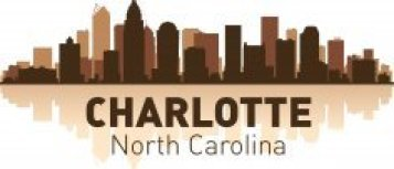 Charlotte Skyline Free CDR Vectors Art