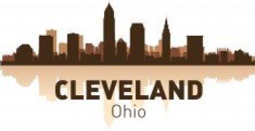 Cleveland Skyline Free CDR Vectors Art