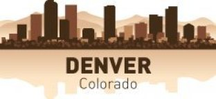 Denver Skyline Free CDR Vectors Art