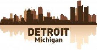 Detroit Skyline Free CDR Vectors Art
