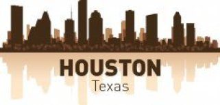 Houston Skyline Free CDR Vectors Art