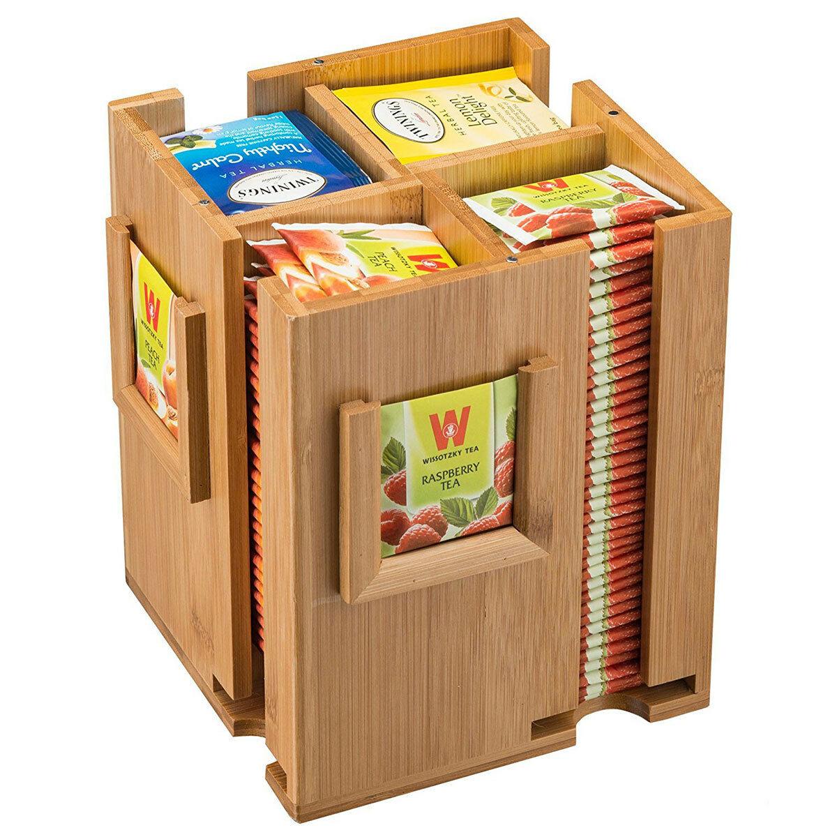 Tea Box Storage Sugar Bag Organizer Free CDR Vectors Art
