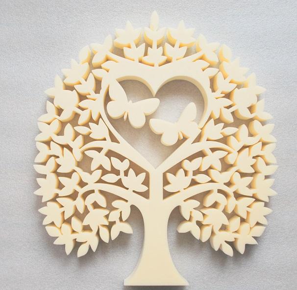 Heart Tree With Butterflies Tree Of Love Free CDR Vectors Art