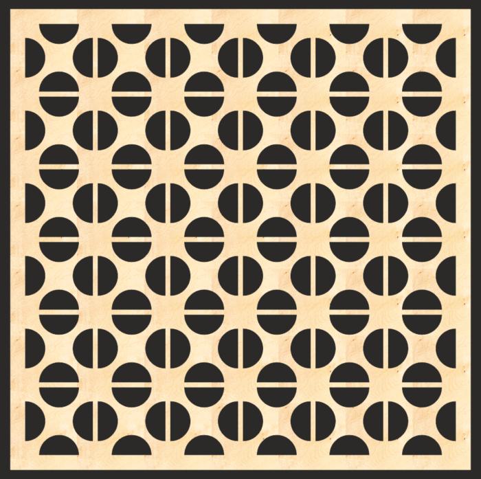 Decorative Mdf Screen Pattern Free CDR Vectors Art