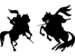 War Horse Silhouette Free DXF File