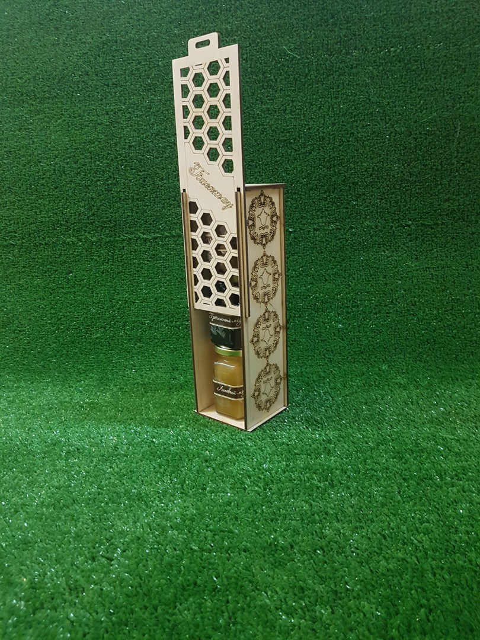 Laser Cut Gift Box Pencil Case Wooden Wine Box Free CDR Vectors Art