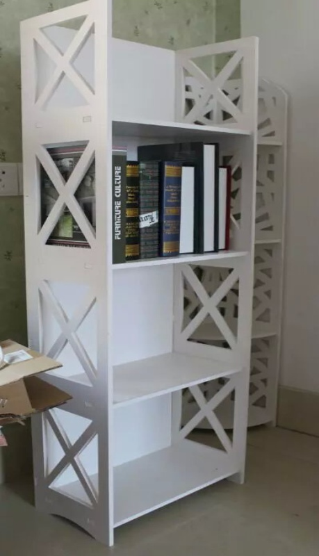 Laser Cut Bookshelf Template Free CDR Vectors Art