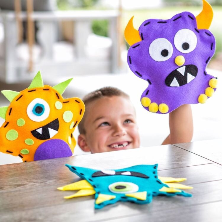 Laser Cut Animal Character Puppets For Kids Free CDR Vectors Art
