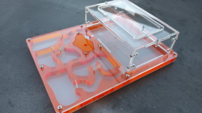 Laser Cut Antfarm 200x150x50mm Free DXF File