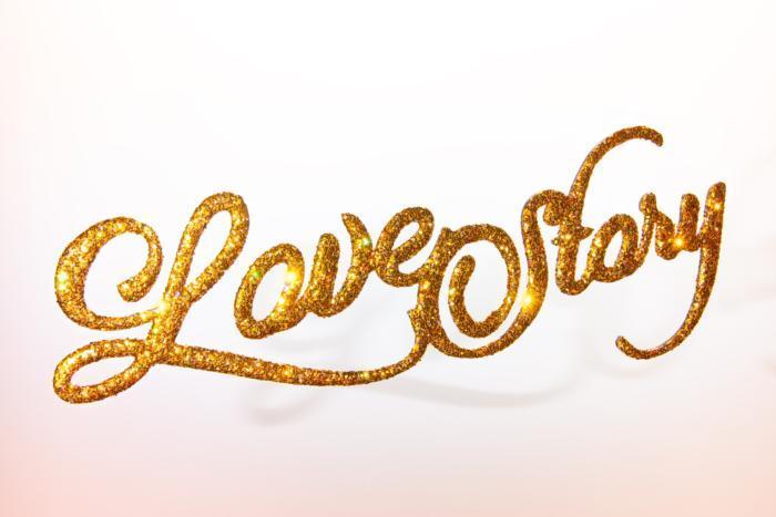 Laser Cut Glitter Decor Love Story Free DXF File