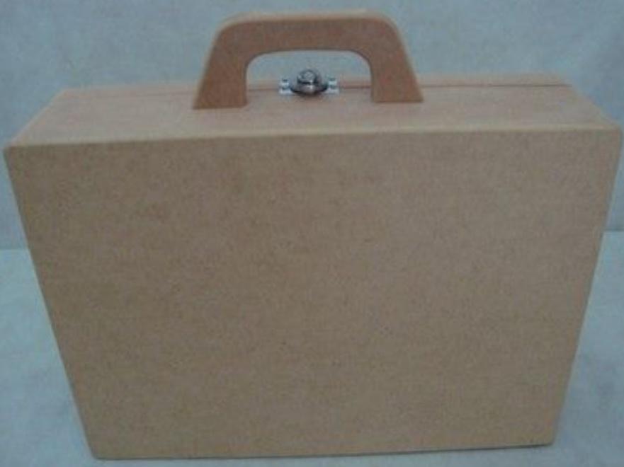 Laser Cut Suitcase 3mm Free CDR Vectors Art