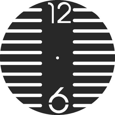 Wall Clock Simple Free CDR Vectors Art
