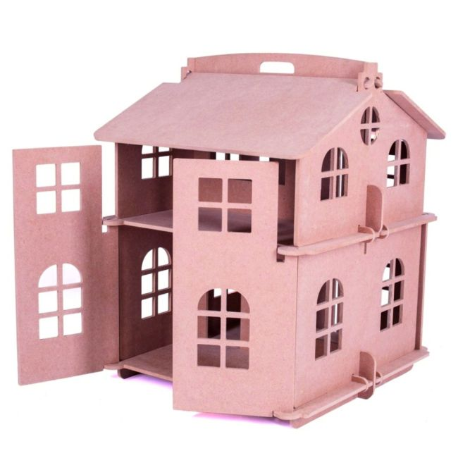 Laser Cut House Model For Kids Free CDR Vectors Art