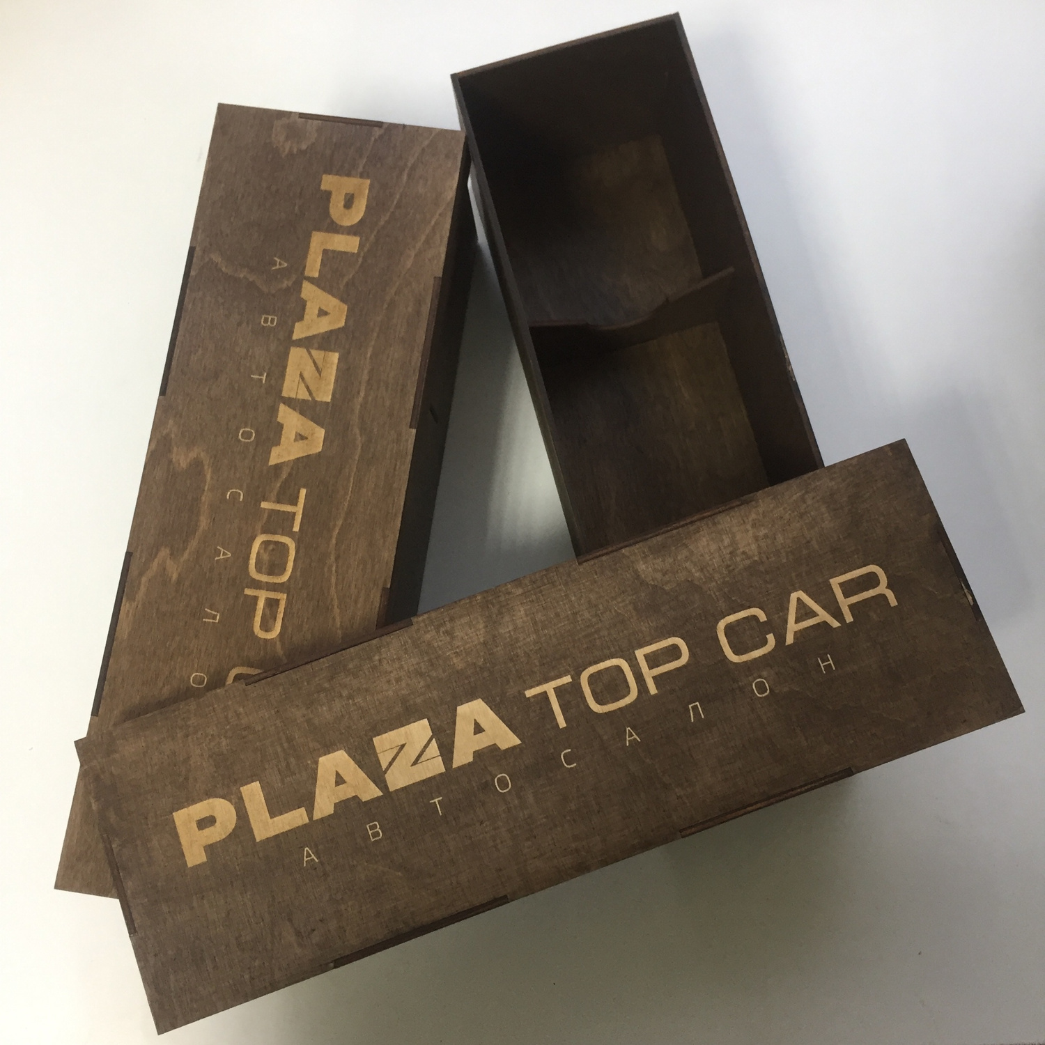 Laser Cut Champagne Box 3mm Plywood Free CDR Vectors Art